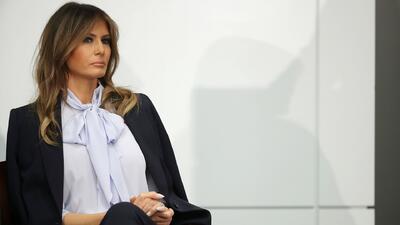 Melania Trump advierte sobre los efectos destructivos del mal uso de las redes sociales desatando las críticas