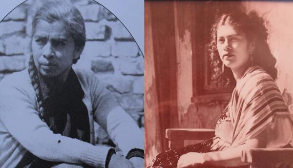Carmen García (izquierda) abrió su puesto en la Plaza Olvera en 1934 y s...