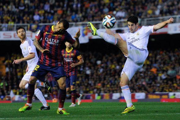Isco, quien ha estado jugando por la lesión de Ronaldo tuvo un buen part...