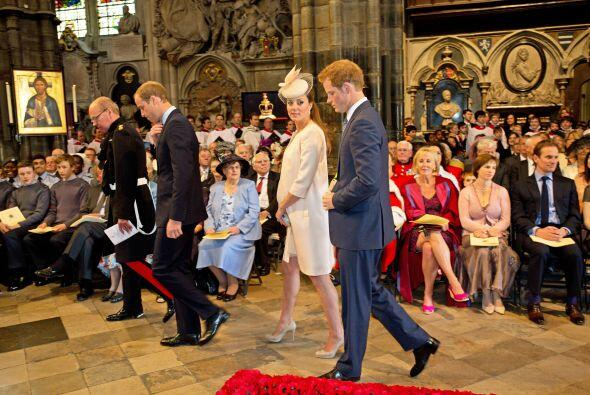 4 de junio de 2013  Los duques asisten a una misa en la Abadía de Westmi...