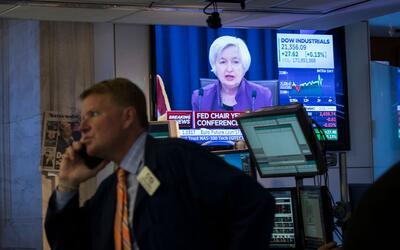 Janet Yelen dijo que la buena salud de la economía llevó a...