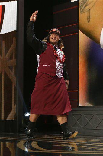 Así la vestimenta de Shelton (AP-NFL).