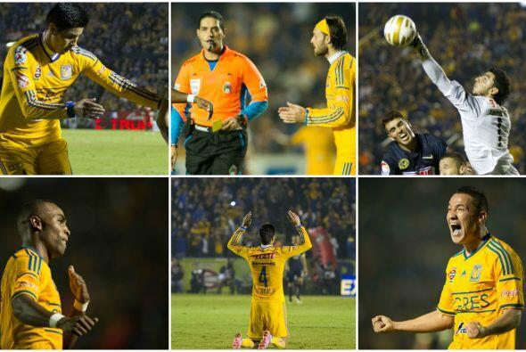 Tigres tiene una ventaja de 1-0 sobre América para la final de vuelta pe...