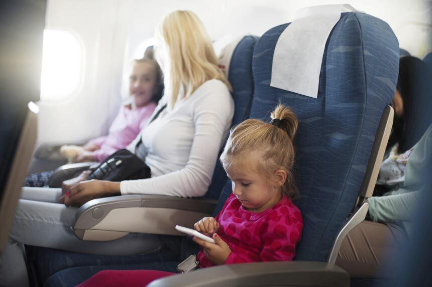 Cómo entretener a tus hijos cuando vas de viaje