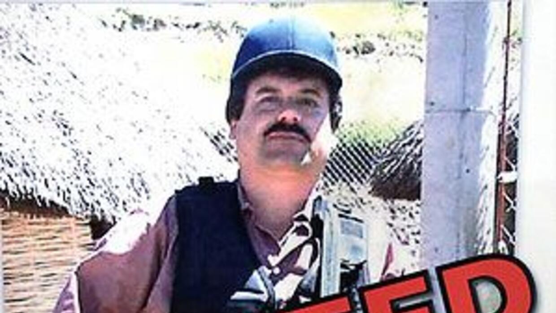 Joaquín El Chapo Guzmán, capo del cartel de Sinaloa, México.