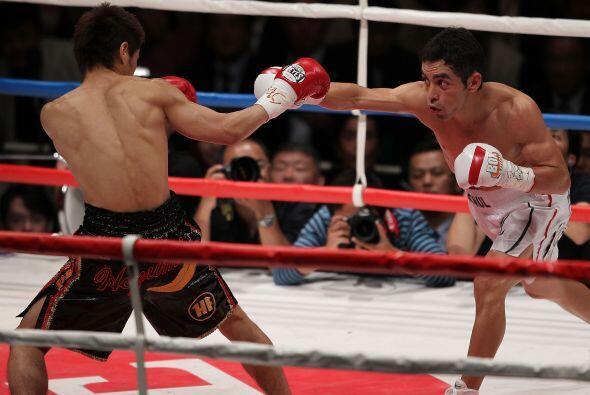 Fernando sufrió para encontrarle la distancia a su rival, sus pri...