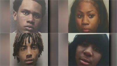 Autoridades arrestan a cuatro sospechosos acusados de cometer violentos robos en Houston