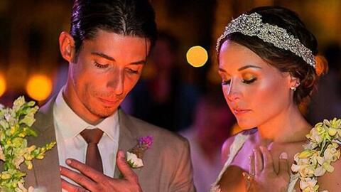 Y el día llegó,  Zuria Vega y Alberto Guerra llegaron al altar.