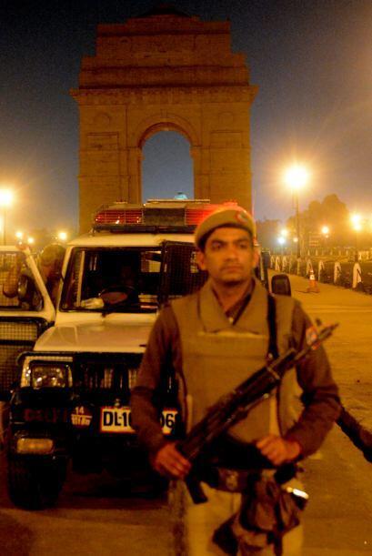 En Nueva Delhi, edificios monumentales como el Fuerte Rojo o la Tumba de...