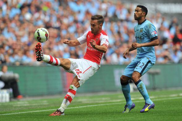 El duelo inició y Arsenal lucía mejor en el campo que los...