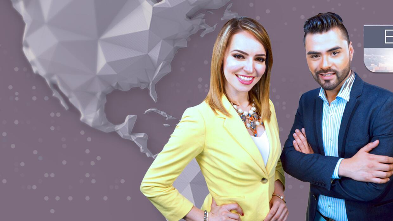 Heidi Renpenning y Jorge Valenzuela presentadores de Edición Digital Ari...
