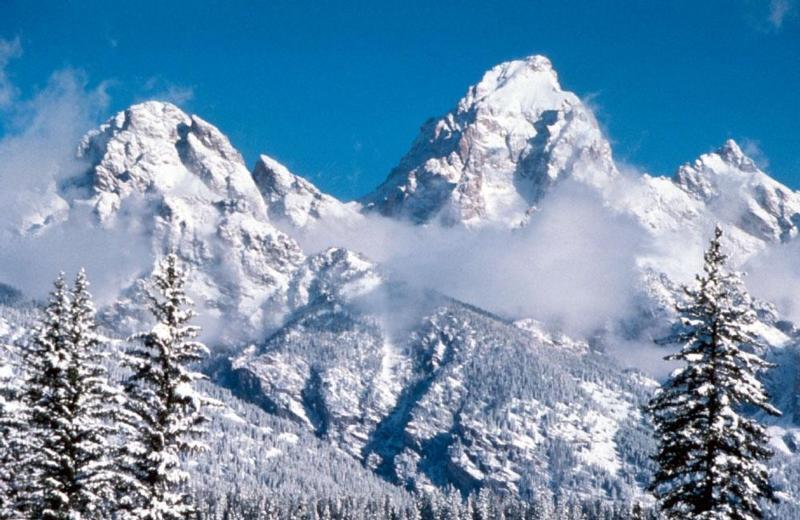 Así se ve el invierno en los parques nacionales de Estados Unidos GRAND...