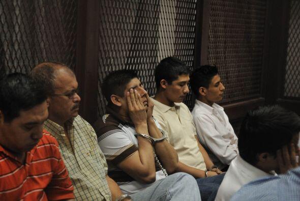 Un tribunal de Guatemala condenó a penas de ocho a 313 año...