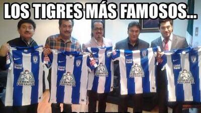 Tigres y Pachuca no se escaparon de los memes en la Liga de Campeones de Concacaf
