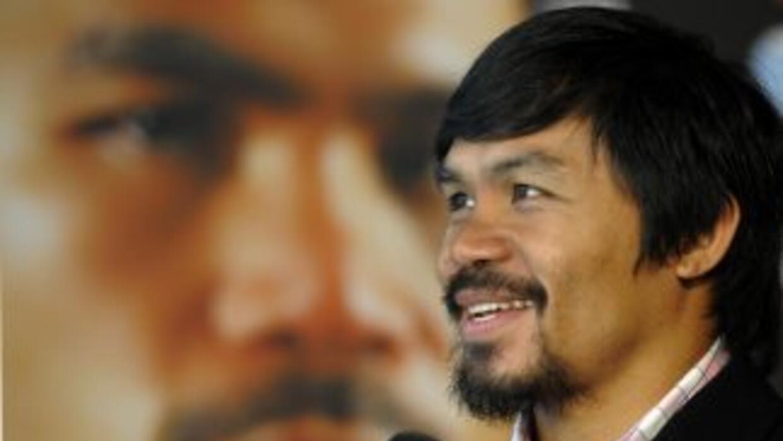 Manny Pacquiao eseguró que él sí quiere pelear con mayweather.