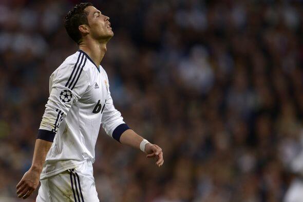 Cristiano Ronaldo no lució a la altura de lo que ameritaba el encuentro...