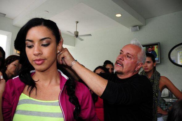 Las 24 semifinalistas de Nuestra Belleza Latina se divirtieron mientras...