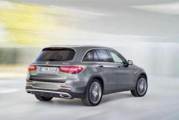 El nuevo Mercedes-Benz GLC se empezará a comercializar en los Estados Un...