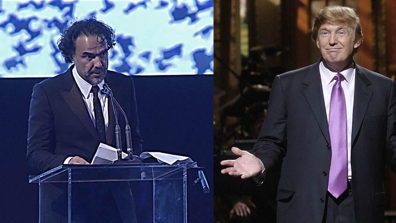 Iñárritu y Trump protagonizan el sábado noche