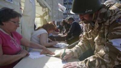 Referendos celebrados en el este de Ucrania.