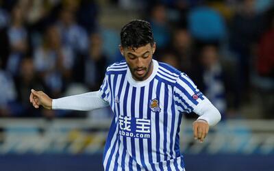 Carlos Vela se prepara para salir de la Real Sociedad.
