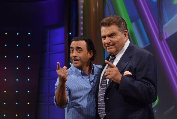Junto con Don Francisco, Adal invitó a todos los televidentes a d...