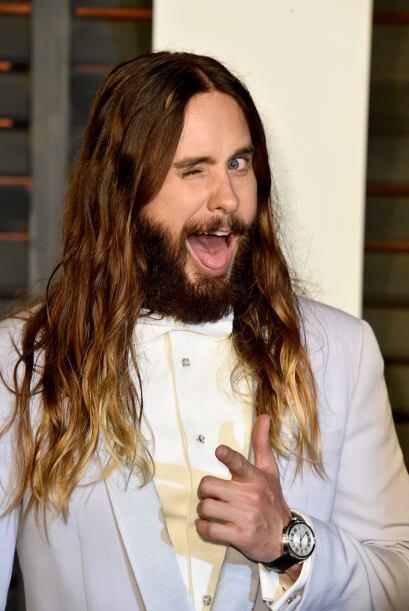 Jared Leto es el claro ejemplo de una barba nada sexy, pues con su look...