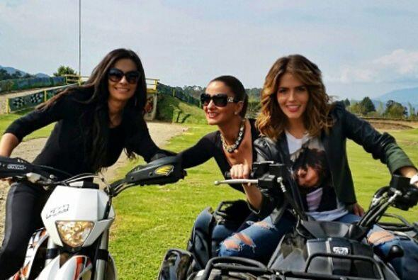 Algunas chicas como Claudia Álvarez, Mariana Seoane y Ana Brenda...