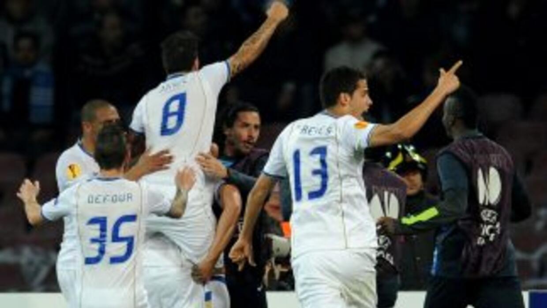 El Porto, con el mexicano Reyes en el campo durante todo el juego, hizo...