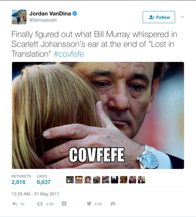 Los mejores memes de 'covfefe'