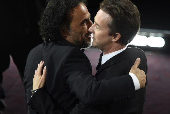 Iñárritu, el más apapachado de la noche.