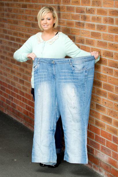 Becky Hames logró bajar 98 libras antes de su boda, gracias a que pasó u...
