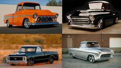 Las pickups Chevrolet modificadas más caras de la historia