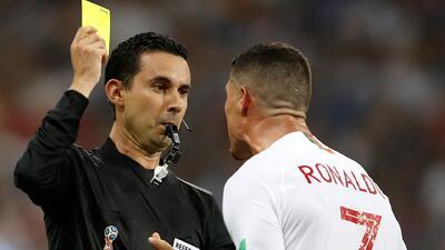 Árbitro mexicano reveló qué le dijo Cristiano Ronaldo