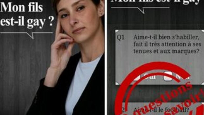 La polémica aplicación hace un cuestionario de 20 preguntas.