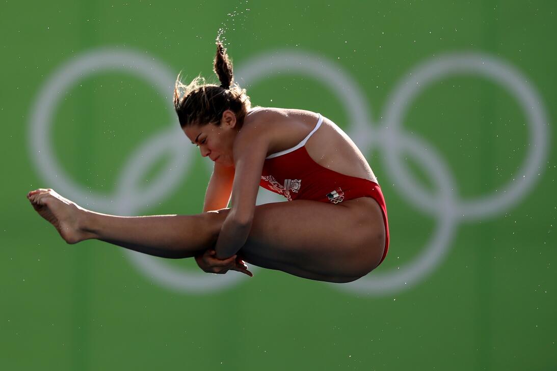 Alejandra Orozco: en los Juegos de Londres 2012 se colgó la medalla de p...