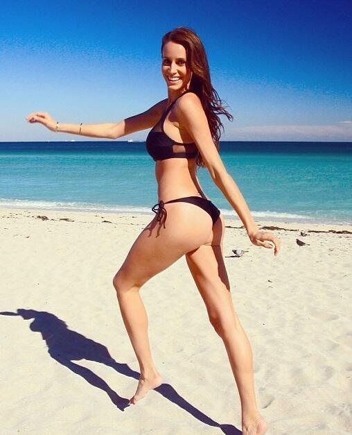 Lauren es una espectacular modelo australiana quien roba las miradas del...