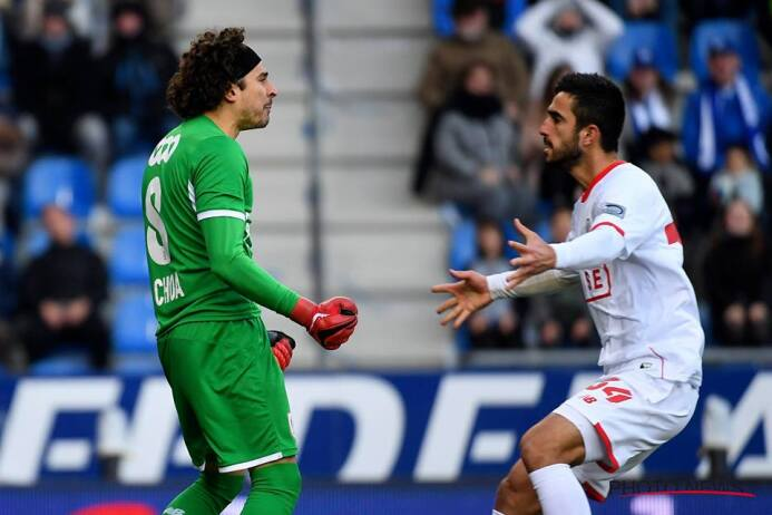 Genk 0-[2] Standard: gran partido de Guillermo Ochoa en la Pro League de...