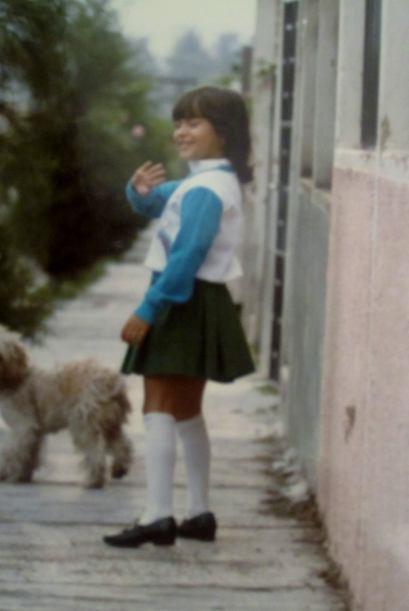 Satcha siempre estaba feliz, su nombre se debe a que a su mamá le gustab...