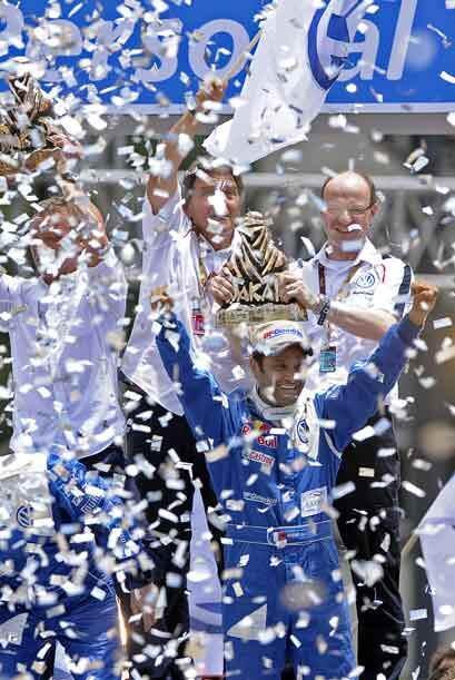 La fiesta final del Rally Dakar 2011 fue una celebración por el dominio...