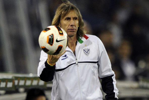 Ricardo Gareca, técnico de Vélez, indicó que a pesar del resultado el pa...