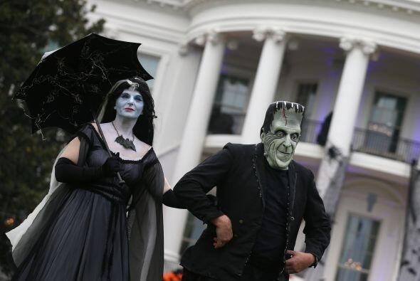 Obama ha abierto la Casa Blanca para Halloween en todos, excepto uno de...