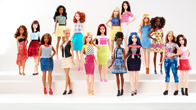 Barbie Fashionistas 2016