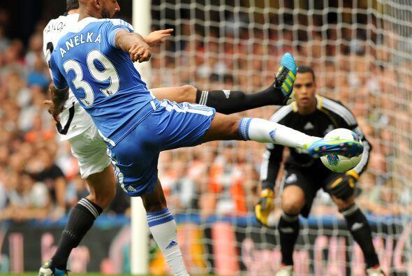 Chelsea se despachó con una terrible goleada ante el Swansea.