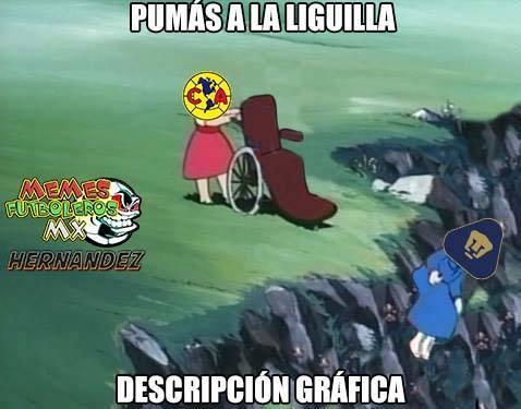 Pumas se llevó las burlas de los aficionados de la Liga MX al que...
