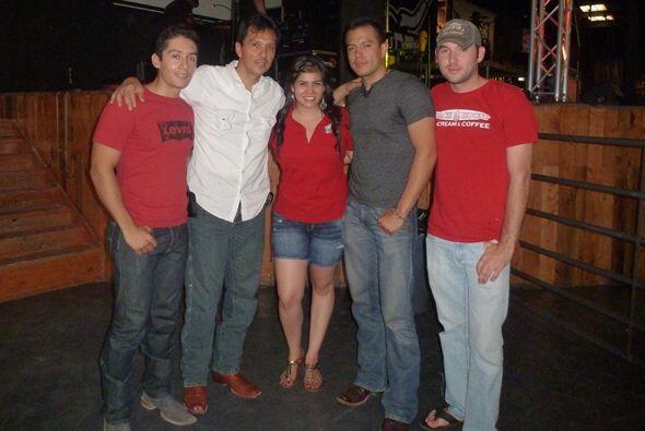 Banda Los Recoditos en El Paso, Texas