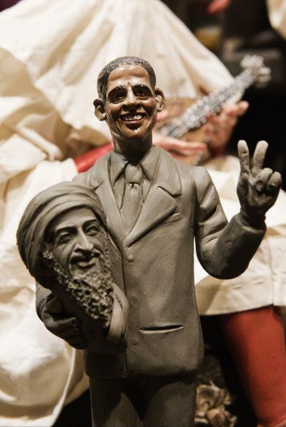 La noticia de la muerte de Osama bin Laden a manos del ejército de Barac...