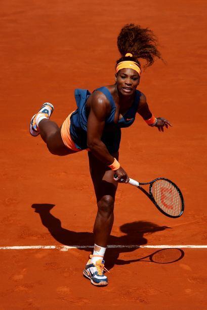 La menor de las hermanas Williams, que no gana Roland Garros desde 2002,...
