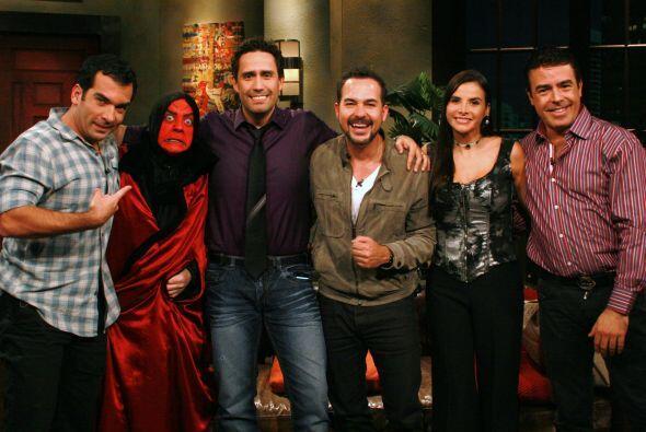 El periodista Camilo Montoya, la actriz Natalia Ramírez y la sexóloga Ca...