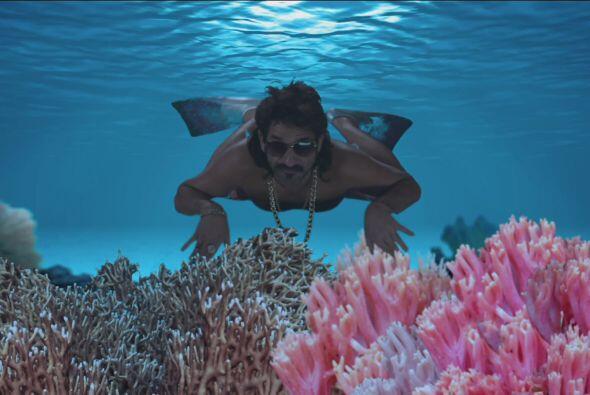 Nadó a las profundidades del océano para encontrarla.